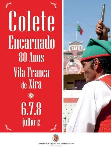 Colete - Câmara Municipal de Vila Franca de Xira