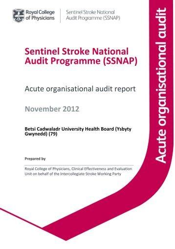 Betsi Cadwaladr University Health Board (Ysbyty Gwynedd)