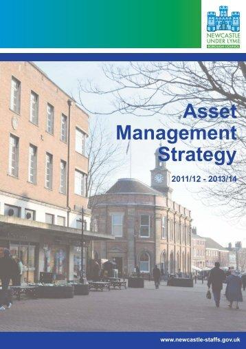 Asset Management Strategy - Newcastle-under-Lyme Borough ...