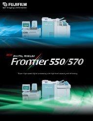 (Frontier 570)* 1210 prints/hour (Frontier 550)