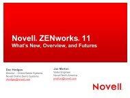 Novell Corporate Presentation Template 2009 - blue - ivnua