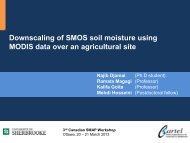Downscaling of SMOS soil moisture using MODIS data... (N ... - SMAP