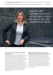 umsätze und gewinne deutscher aktien sind so hoch wie schon seit ...