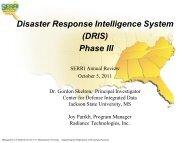 October 2011 Review Meeting (Skelton adn Parikh) - Southeast ...