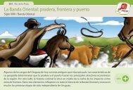 La Banda Oriental: pradera, frontera y puerto - Manosanta