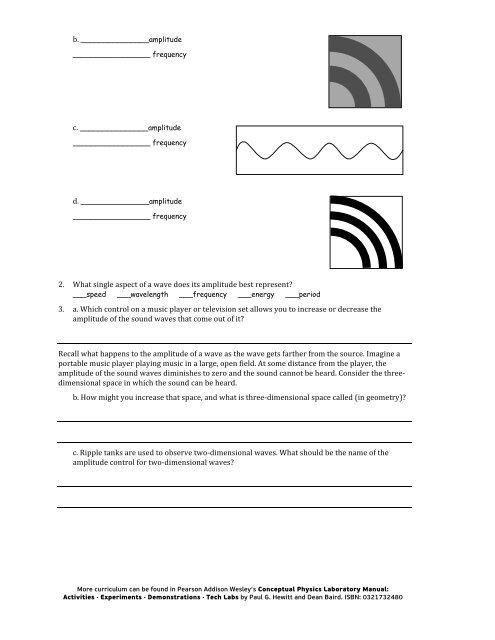 Waves in Electric Sink pdf - PhET
