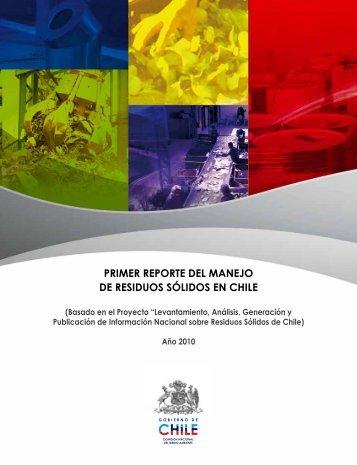primer reporte del manejo de residuos sólidos en chile - Finanzas ...