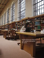 The Challenge - Stanford University Libraries & Academic ...