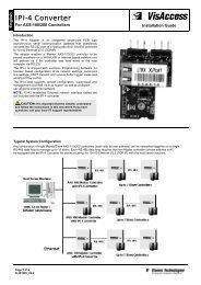 IPI-4 Converter - Visonic Technologies