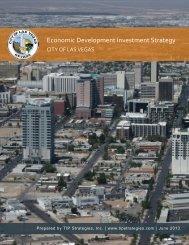 Economic Development Investment Strategy - City of Las Vegas