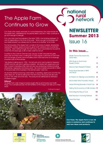 Issue 16 Summer 2013 - National Rural Network