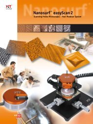easyScan 2 brochure (1.1 MB) - Schaefer Technology