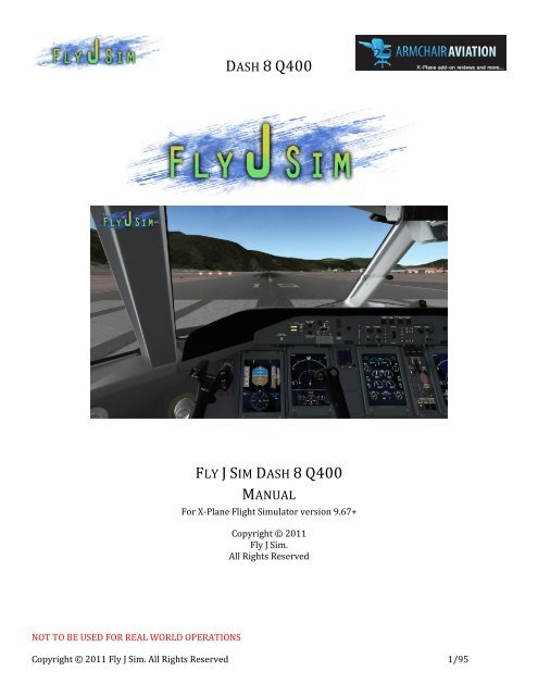 FJS-Dash 8 Q400 Manual