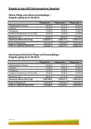 Kosten Seniorenzentrum Sauerlach