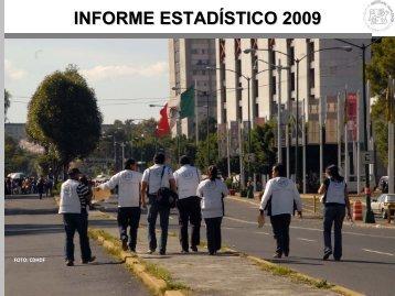 informe estadístico 2009 - Comisión de Derechos Humanos del ...