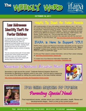 OCTOBER 18, 2011 - ifapa