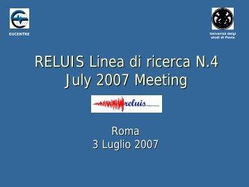 D - ReLUIS