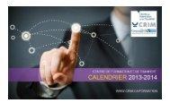 Téléchargez le calendrier (pdf) - CRIM