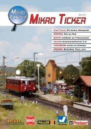 "Mikro Ticker - MIKRO LÃ""NDER Club"