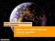 SINAUT® Spectrum Network Applications - IRRIIS