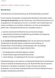 Brandschutz - Universum Verlag