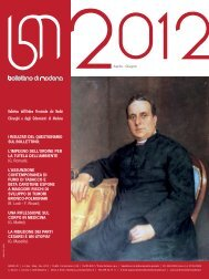 aprile - giugno 2012 (pdf - 2.9 MB) - Ordine Provinciale dei Medici ...