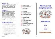 PÃ¥ skitur med Campingvognen? Information om DCS - Dansk ...