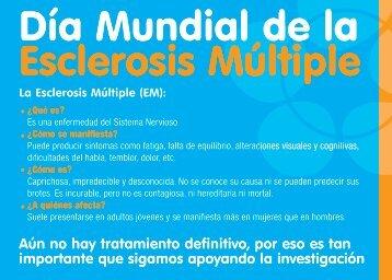 Día Mundial de la Esclerosis Múltiple - Esclerosis Múltiple España