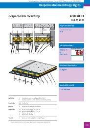 Bezpečnostní mezistrop Rigips - Výrobek - technologie roku