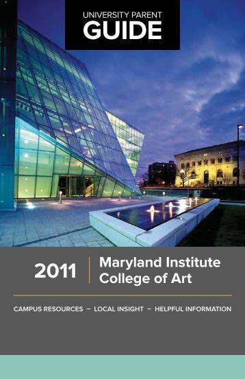 2011 Maryland Institute College of Art - University Parent