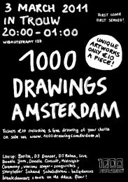 Download flyer 2011 - 1000 Drawings