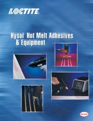 Hot Melt Adhesives - Loctite