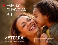 FAMILY PHYSICIAN™ KIT - dōTERRA - Essential Oils