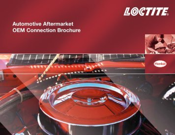 Automotive Aftermarket OEM Connection Brochure - Loctite.ph