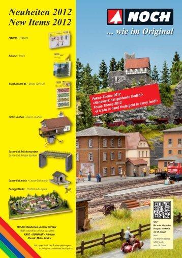 Neuheiten 2012 New Items 2012 - Noch