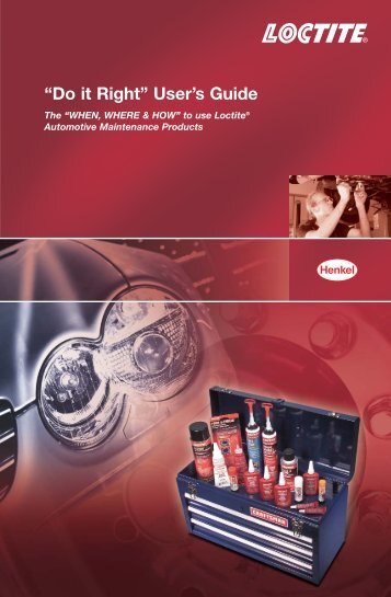 LT-4680 AAM Do It Right Guide - Loctite.ph