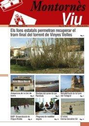 Febrer - Ajuntament de Montornès del Vallès