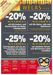20% - Pro Kaufland
