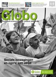 Globo 24: Sociale bewegingen en ngo's: een strijd - Oxfam-Solidariteit