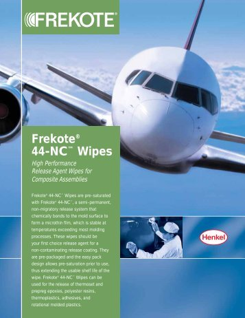 Frekote® 44-NC™ Wipes - Loctite.ph