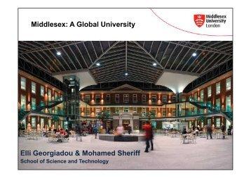 Middlesex University (MDX) - Tempus