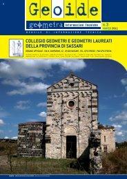 marzo 2011 - Collegio dei Geometri della provincia di Sassari