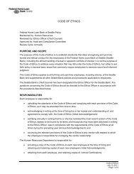 CODE OF ETHICS - EthicsPoint