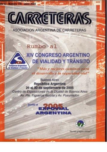 Page 1 ' ' ASOCIACION ARGENTINA DE CARRETERAS Rumbo al ...
