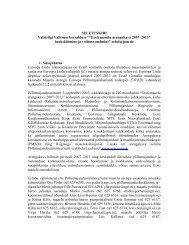 Maaelu arengukava (MAK) 2007-2013 seletuskiri