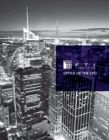 OFFICE OF THE CFO - FTI Consulting