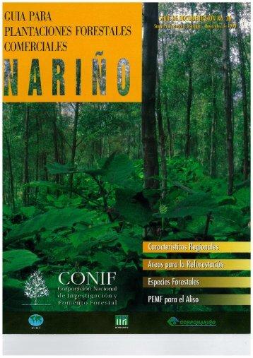 Guia para Plantaciones Forestales Comerciales: Nariño - ITTO