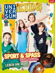 Inhalt Universum Kids 3/11