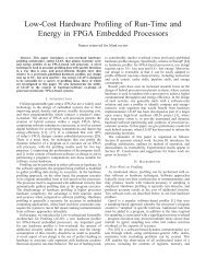 Low-Cost Hardware Profiling of Run-Time and Energy in FPGA ...
