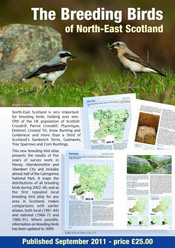 order form - The Scottish Ornithologists' Club